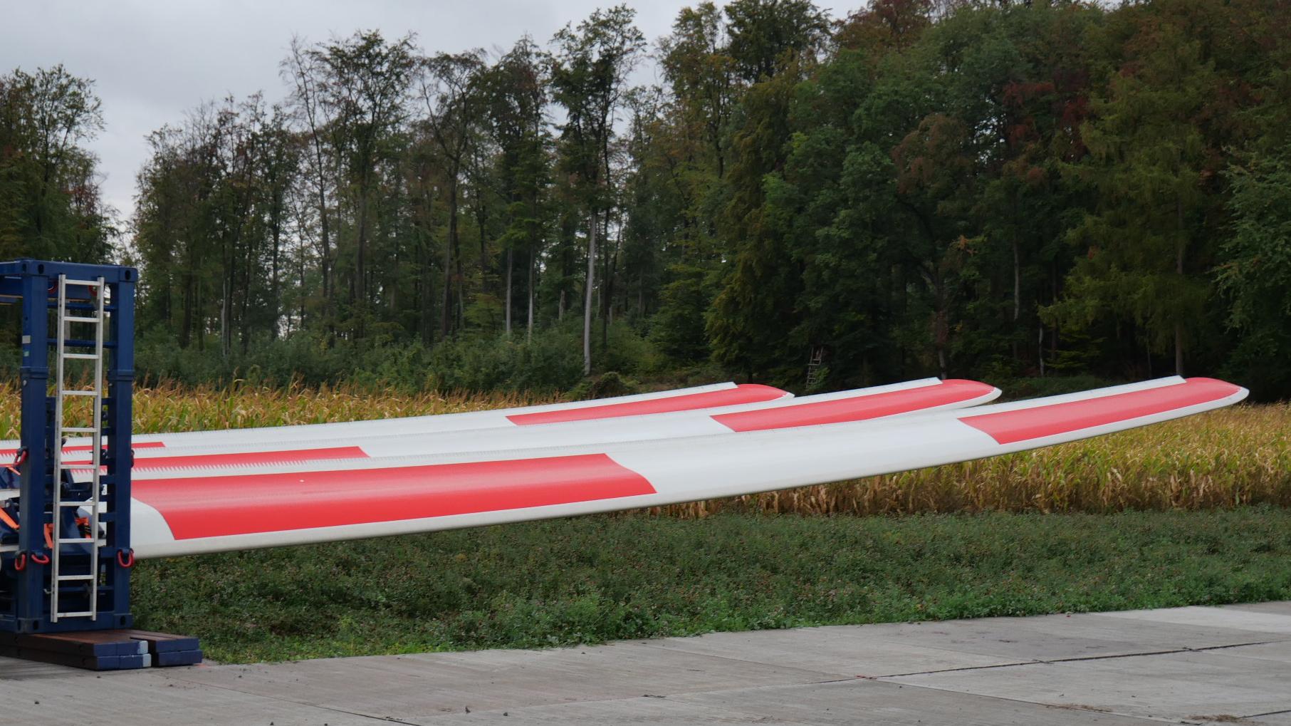 Windkraft im Bau in Ober-Ramstadt